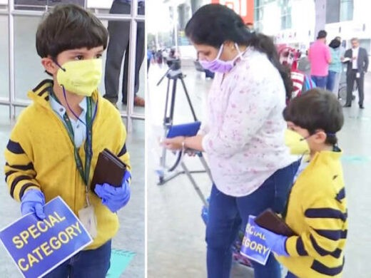 5 year Old Boy who traveled from Delhi to Bengaluru - The Wall Post