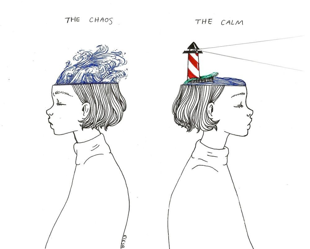 CALM IN CHAOS - Mental Health Matters - mental Health Awareness - The Wall Post