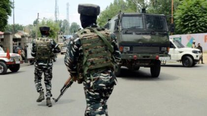 J&K: three militants in an encounter with Security forces - The Wall Post
