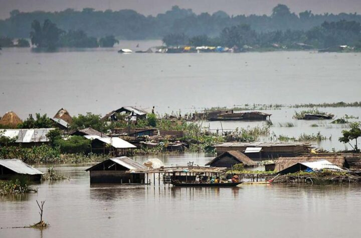 85 dead, over 70 lac affected due to floods in Assam - The Wall Post