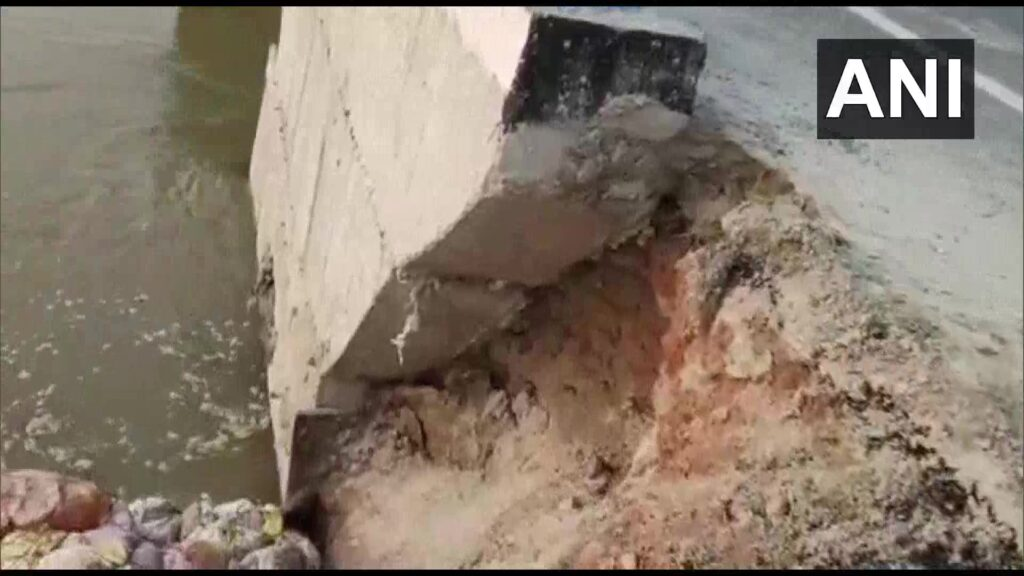 Bridge Collapses Into River in Bihar due to Heavy Rainfall - The Wall Post