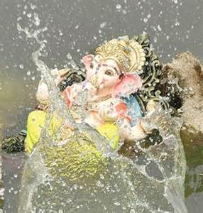 No Ganesh idol immersion in Public Places in Delhi - The Wall Post
