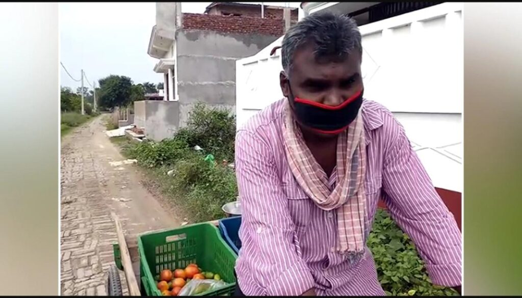 Balika Vadhu and Kuch to log kahenge Serial's Assistant Director is now selling vegetables on the cart - The Wall Post