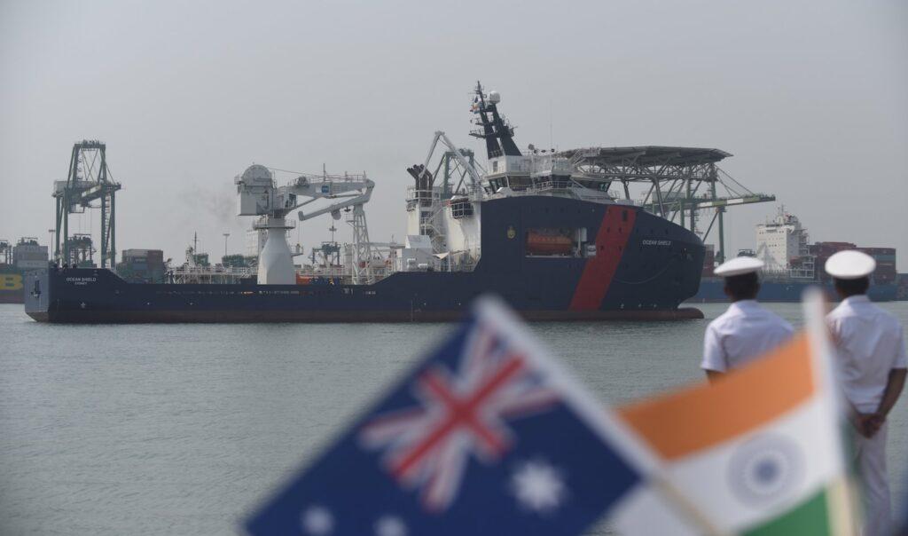 China upset, India - Australia joint  maneuvers beginning today - The Wall Post