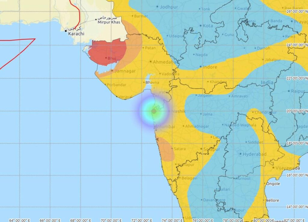 Earthquake tremors felt in Maharashtra's Palghar - The Wall Post