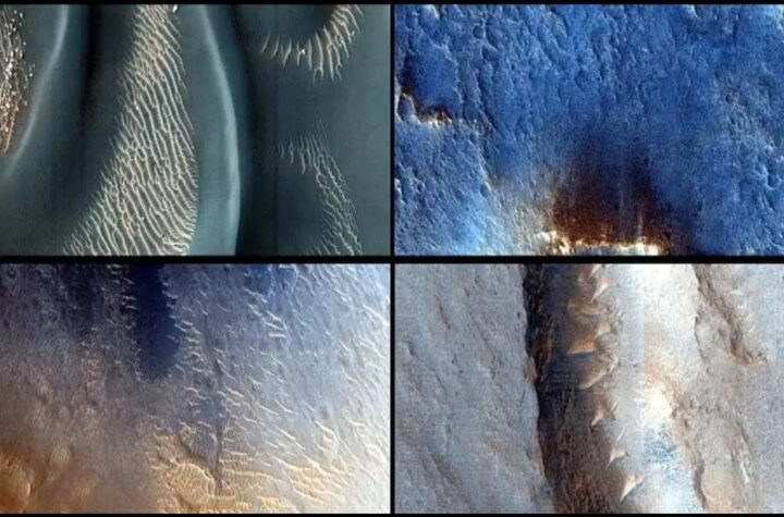 NASA scientists have found three lakes below ground on Mars. This lake, about 20 kilometers long, is buried under snow - The Wall Post - Latest news