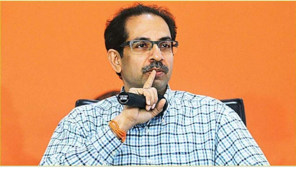 Signs of Chief Minister Uddhav Thackeray that the situation in Maharashtra can be serious  - The Wall Post