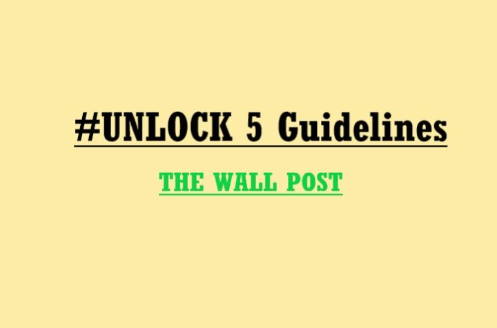 The government announced the unlock 5 guidelines, will be able to watch movies from October 15th - The Wall Post