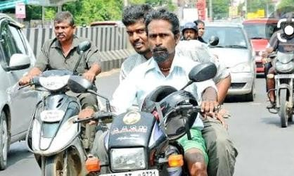 If not wearing helmet while riding, Driving License could get Suspended - The Wall Post