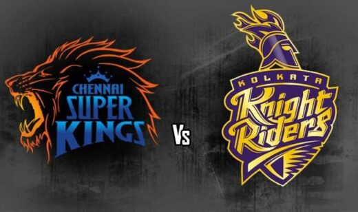 Today's IPL match is between kolkata Knight Riders ( KKR ) and Chennai Super Kings ( CSK ) at 730pm (IST) from Abu Dhabi - The Wall Post