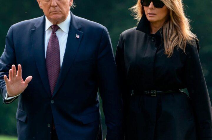 US President Donald Trump and Melania Trump tested Positive for Coronavirus - The Wall Post - International News