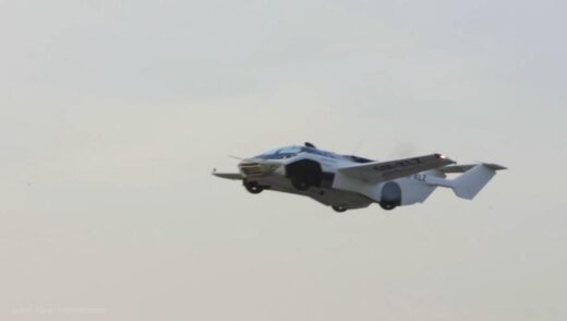 Future is here Car transforms into an airplane flies over Slovakia - The Wall Post
