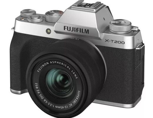 Gadget Insights - Best cameras for beginners- Take your photography to next level - Fujifilm X-T200 - The Wall Post