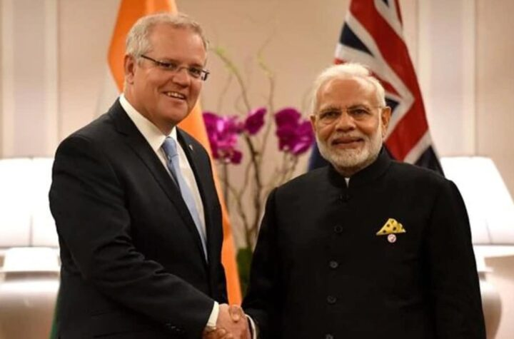 Plans to Take India-Australia Relations to New Heights- Scott Morrison - The Wall Post