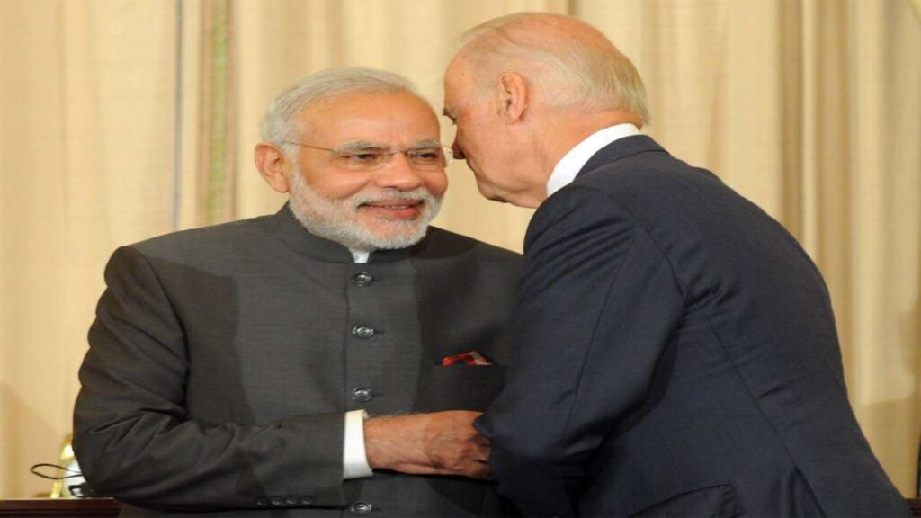 President Biden assured Prime Minister Modi of togetherness - The Wall Post