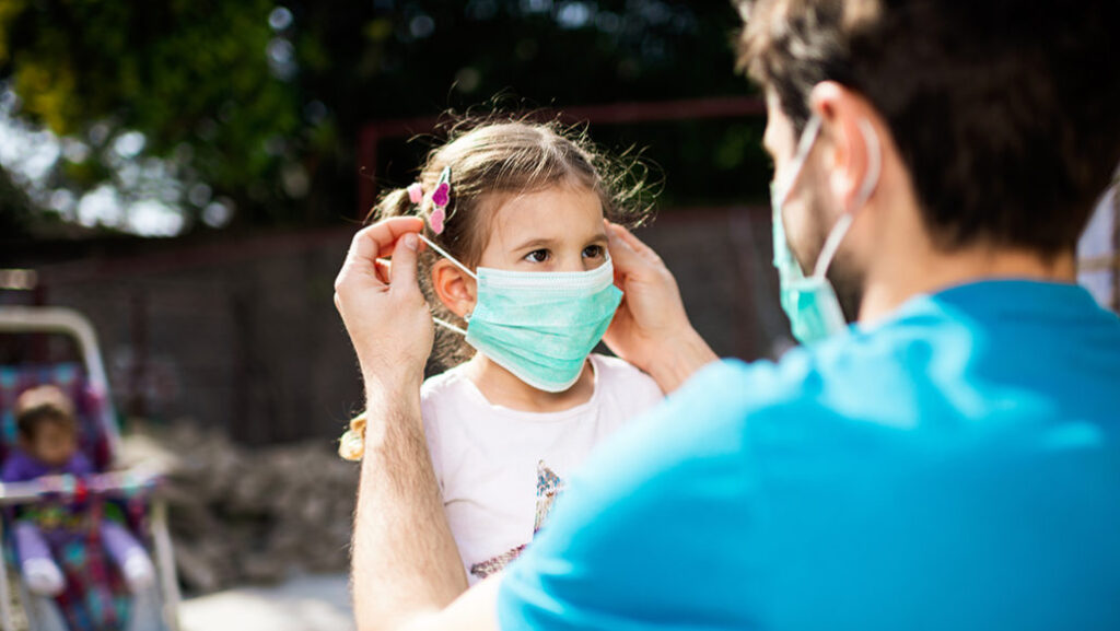 These are the four symptoms of coronavirus in young children - The Wall Post