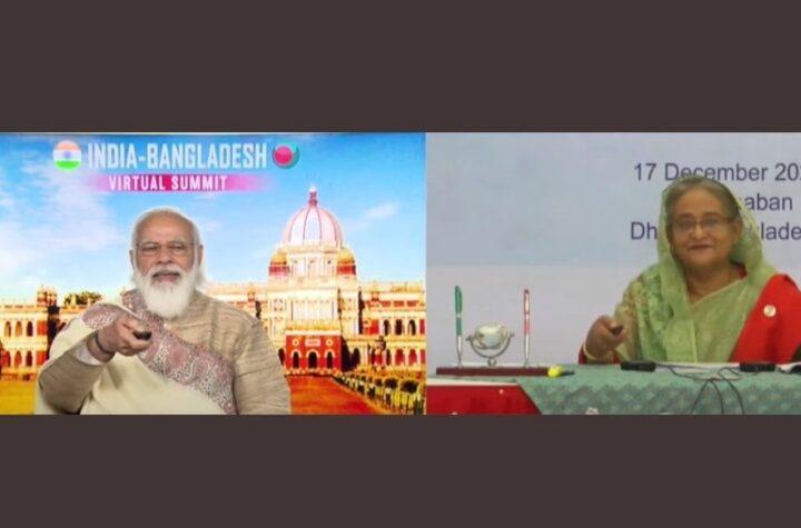 PM Modi and Sheikh Hasina inaugurate Haldibari-chilahati railway line - The Wall Post