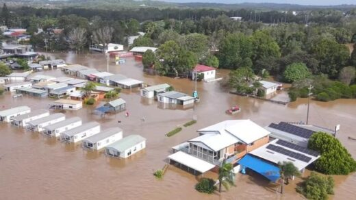 18,000 evacuated as floods in New South Wales intensifies with torrential downpours - The Wall Post - New South Wales Floods