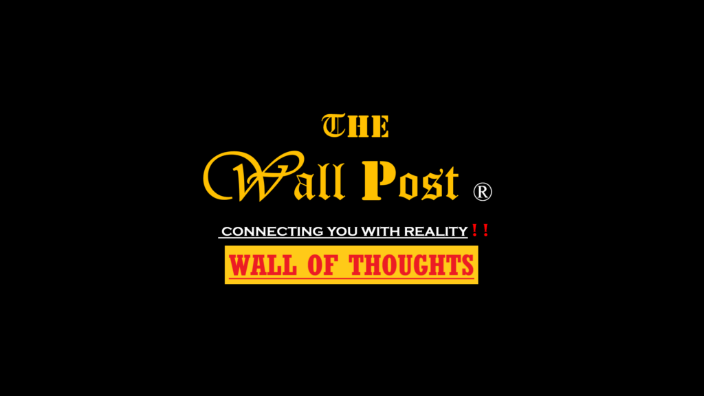 Wall of Thoughts: THE WALL POST provides Latest news articles on Science, Research, Innovations, Health, Technology, New Ideas, Tech Articles.