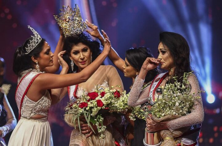 Mrs. World - What happened in Sri Lanka's Mrs. World competition- As crowd was beginning to applaud the crowning of Mrs World- Sri Lanka - The Wall Post
