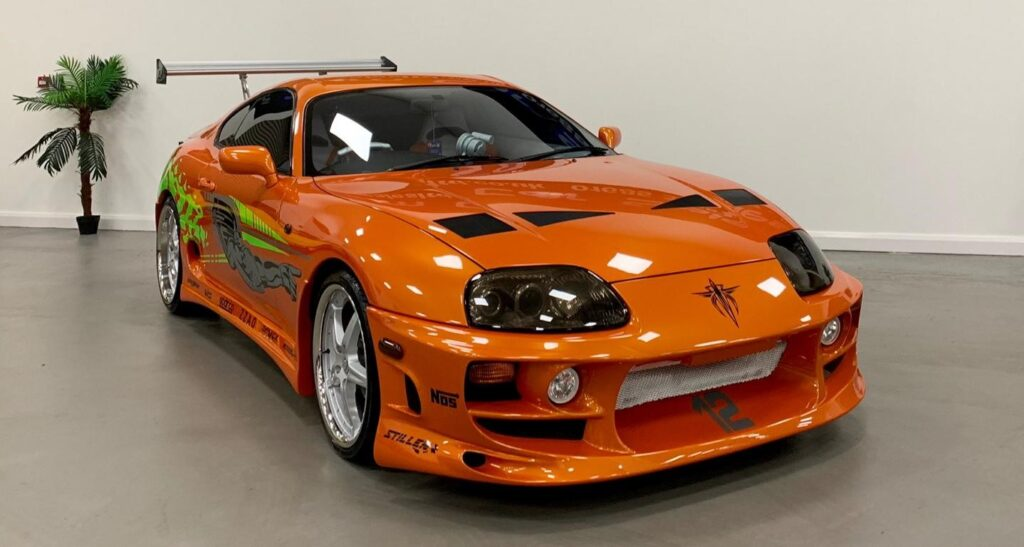 Paul Walker Toyota Supra from Fast and Furious 1 goes up for auction