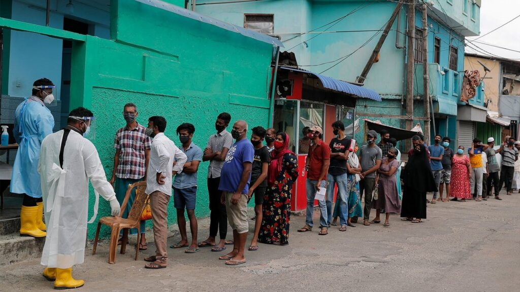 Sri Lanka shuts down borders amidst a third wave of pandemic in the country