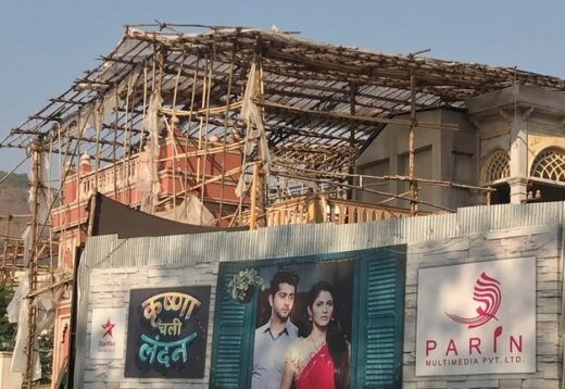 Television serial sets in Mumbai destroyed by Cyclone Tauktae